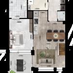 Appartement 44, Eerste Westerparkhof 26