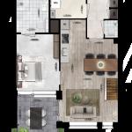 Appartement 4, Eerste Westerparkhof 3