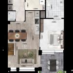 Appartement 1, Eerste Westerparkhof 4