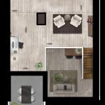 Entresol appartement  44, Eerste Westerparkhof 26