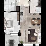 Appartementen 14, 24, 34