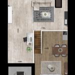 Entresol appartement 35, Eerste Westerparkhof 21