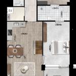 Appartement 43, Eerste Westerparkhof 25