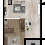 Entresol appartement 43, Eerste Westerparkhof 25