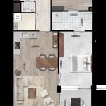 Appartementen 13, 23, 33, Eerste Westerparkhof 7, 13, 19
