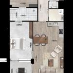 Appartementen 15 en 25, Eerste Westerparkhof 9 en 15