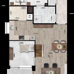 Appartement 42, Eerste Westerparkhof 24
