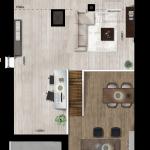 Entresol appartement 42, Eerste Westerparkhof 24