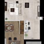 Entresol appartement 36, Eerste Westerparkhof 22