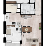 Appartementen 12, 22, 32, Eerste Westerparkhof 6, 12, 18