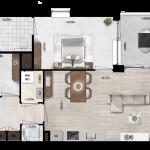 Appartementen 11, 21, Eerste Westerparkhof 11, 17
